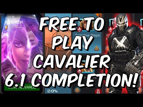 Free To Play Cavalier Act 6.1 Completion - WhaleMilker3000 - Marvel Contest of Champions