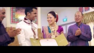 Pream & Trina | Singapore Romantic Hindu Wedding Cinematic Video Trailer