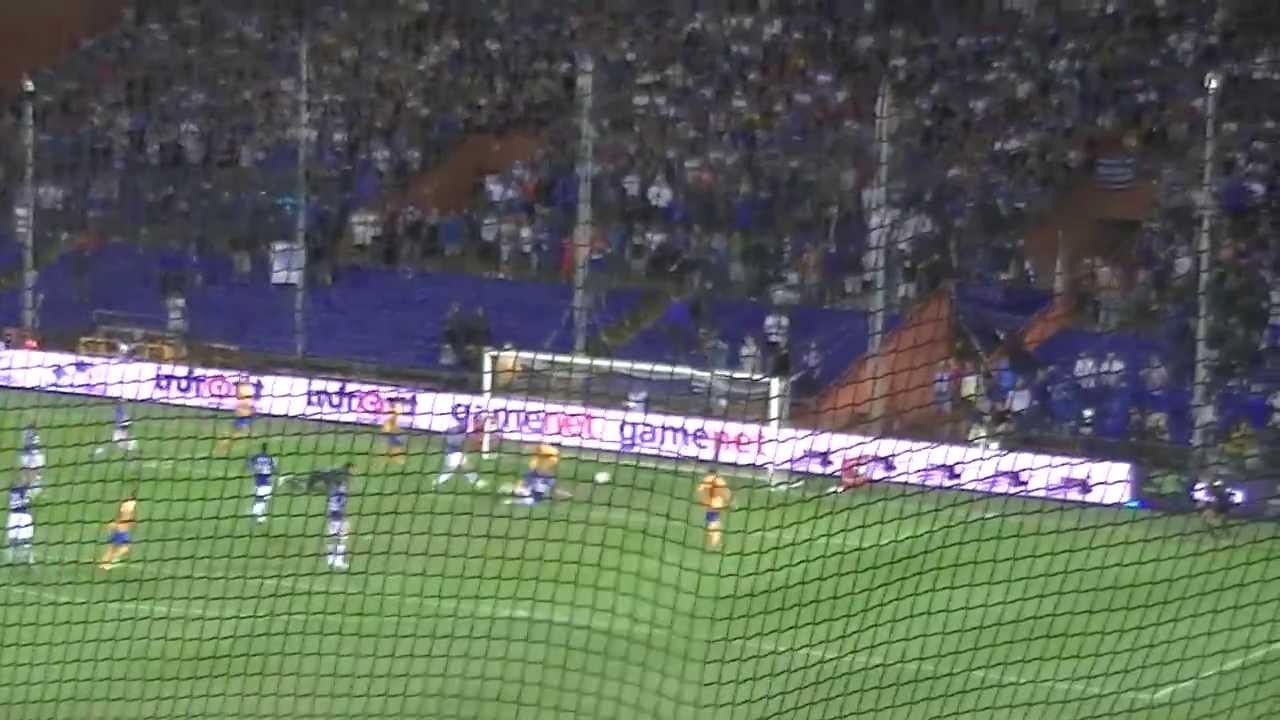 Sampdoria Vs JUVENTUS Goal Tevez 0-1 - YouTube
