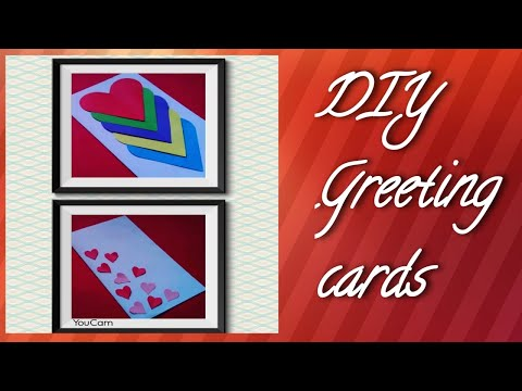 DIY-3 Easy and Cute greeting card ideas
