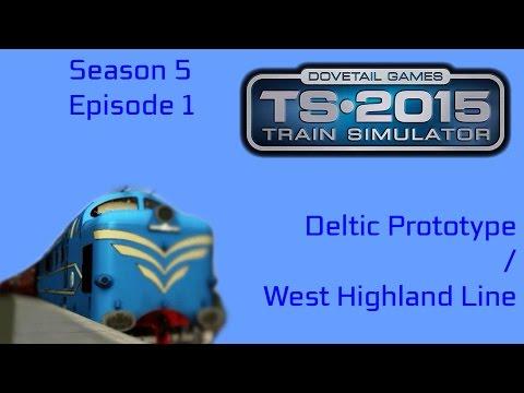 Train Simulator 2015 - Deltic Prototype on West Highland Line |