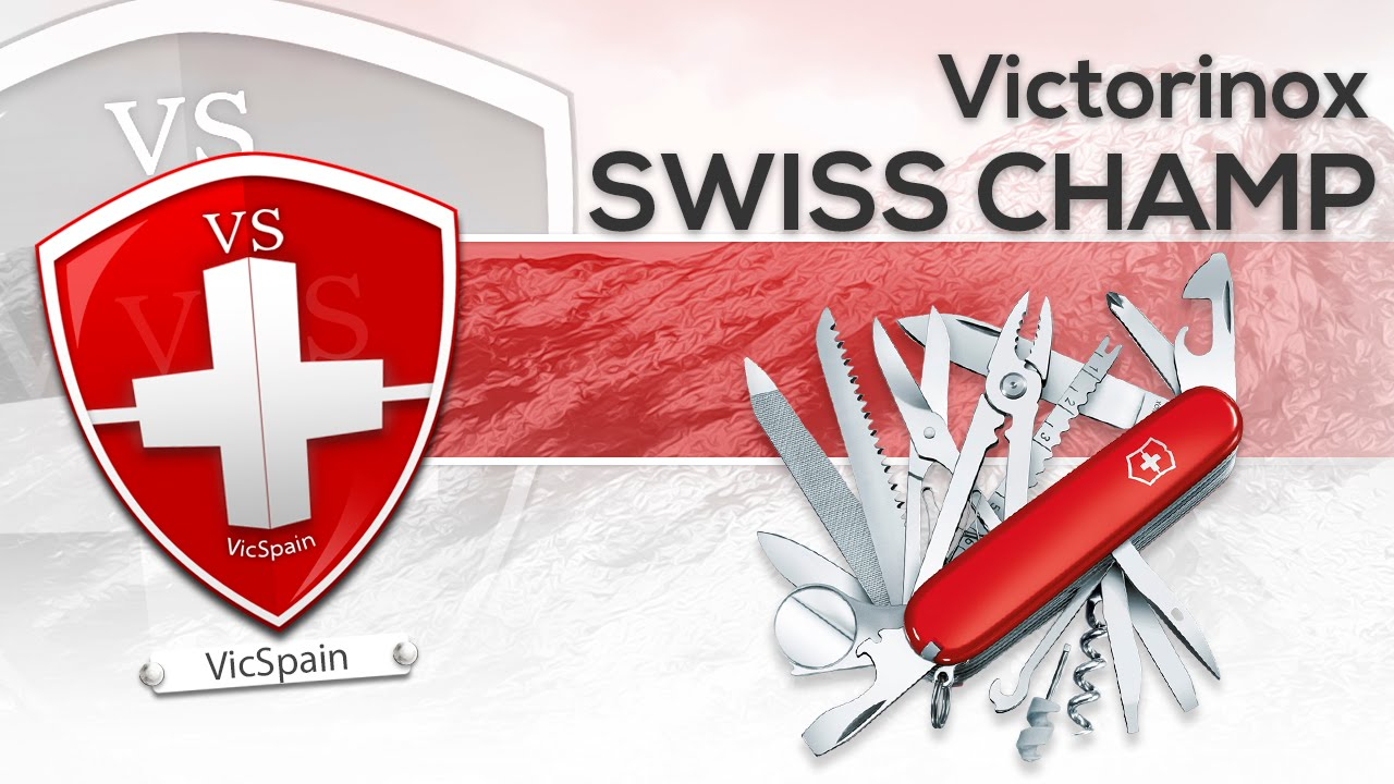 Victorinox Swiss Champ Review All Subtitles Youtube