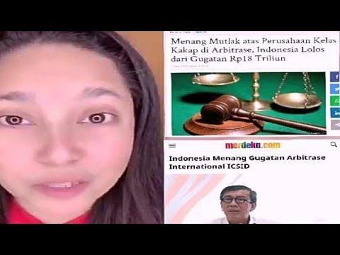 Tante Jepang Girang Banget Pemerintahan Jokowi Menang Gugatan2 Di Pengadilan Internasional