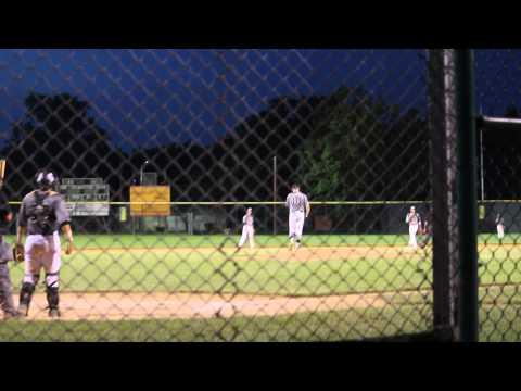 Jake Sadowitz Gallagher Mizuno pitching and playing D June 2014