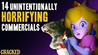14 Unintentionally Horrifying Commercials
