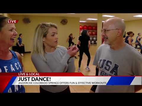 LIVE & LOCAL at Jazzercise Colorado Springs on FOX21 Morning News