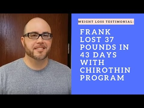 Frank lost 37 pounds in 43 days at iChoose Wellness Center in San Mateo,  CA!