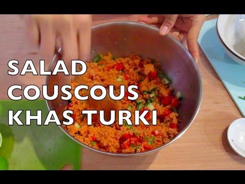 Turkish Couscous - Cara Membuat Salad Couscous khas Turki - Couscous Kısır II Cook Like Kayka