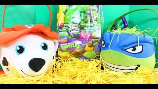 Easter Celebration With Surprise Eggs Hulk Iron Man TMNT Paw Patrol And True Meaning Of Easter Jesus