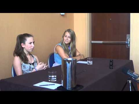 Bronycon 2013 Press Interviews: Michelle Creber and Madeleine Peters