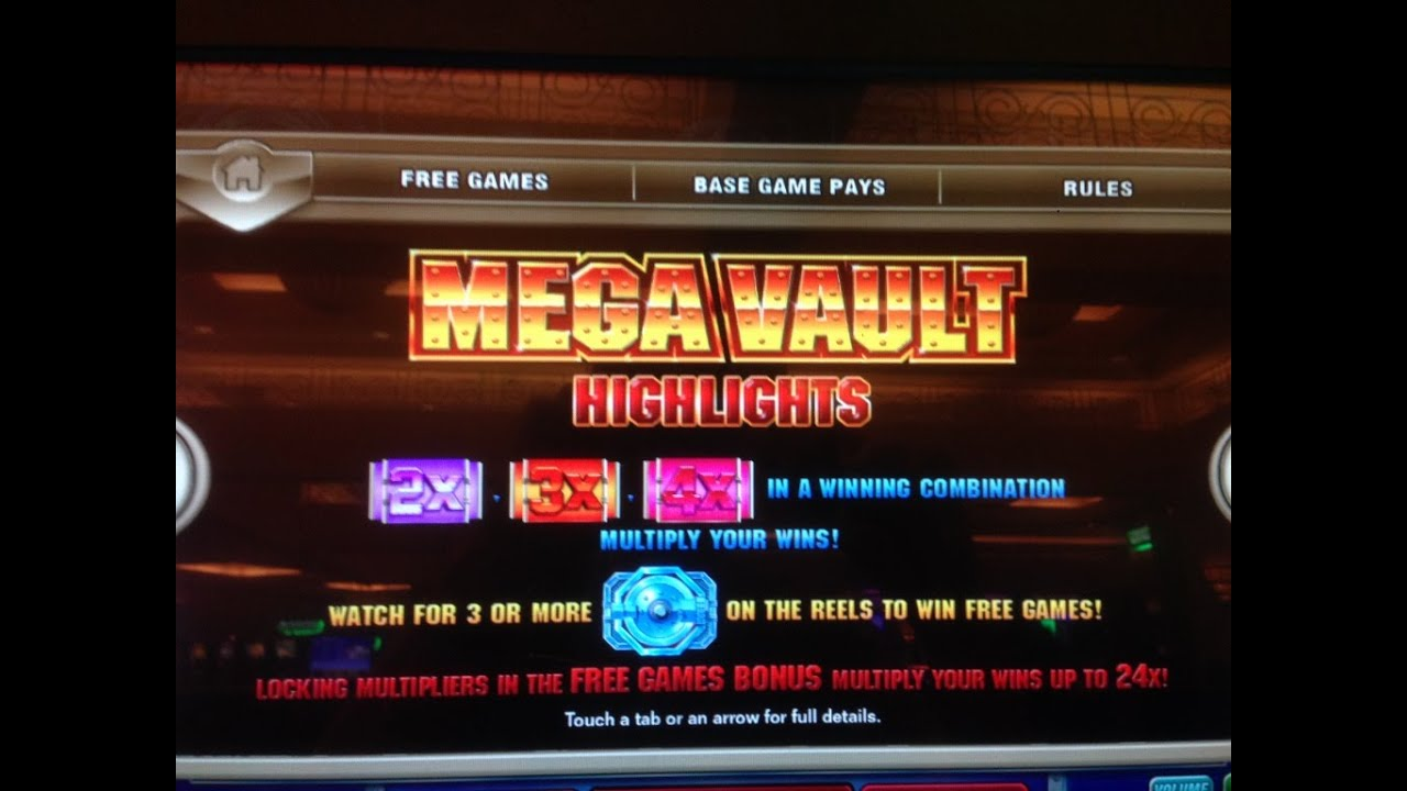Play mega vault slot machine online