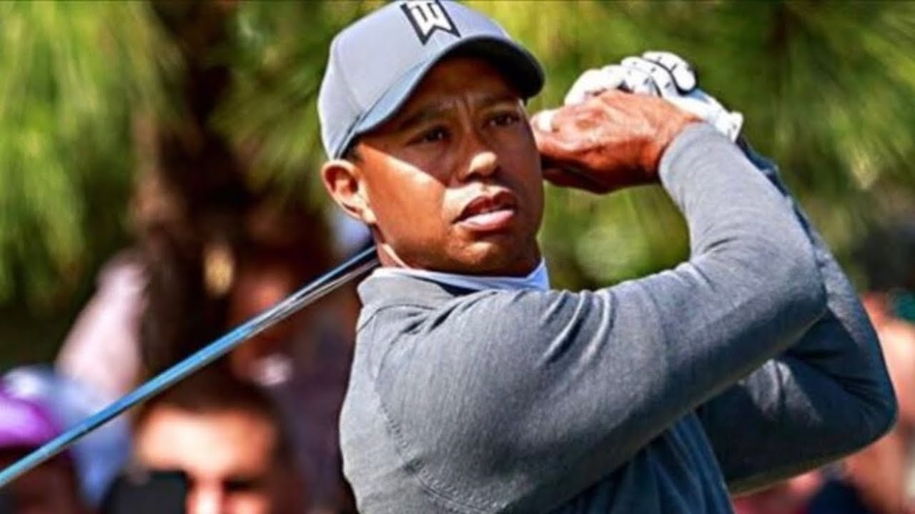 Tiger Woods in Bad Car Accident