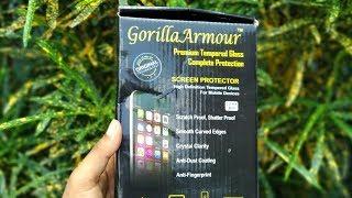 Best Tempere glass For Asus Zenfone Max Pro M1,Gorilla Armour