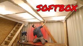 Die größte Softbox der WELT. | Bulli-Garage F.02
