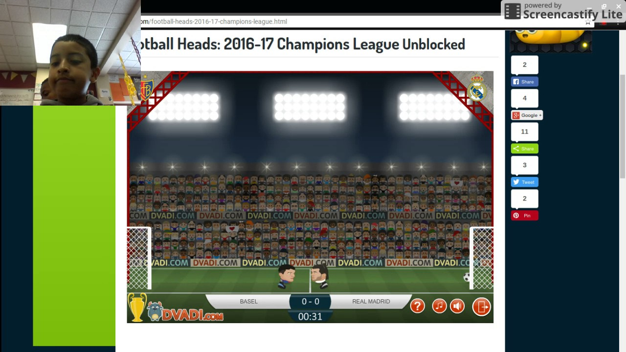 Football Heads Champions League 2016 17 Games 2 3 4 5 6 Youtube