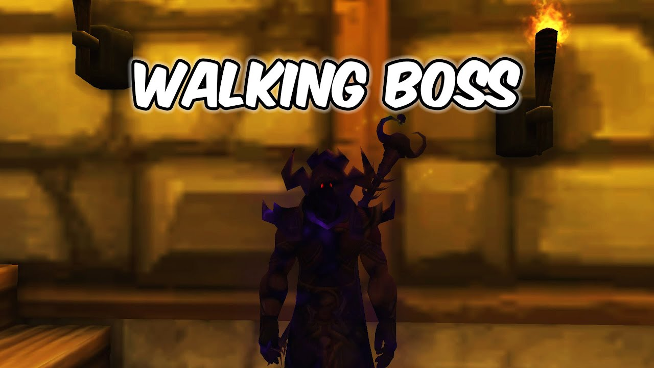 WALKING BOSS - Shadow Priest PvP - WoW Shadowlands 9.0.2