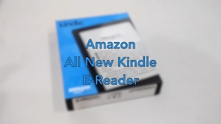 Unboxing : Amazon All New Kindle E-Reader 8th Gen