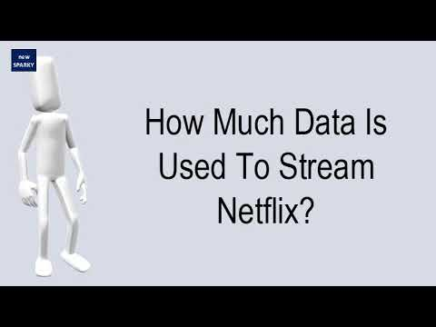 How Much Data Is Used To Stream Netflix?