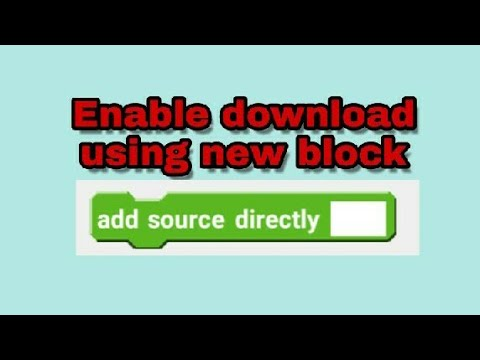 Enable download using 'add source directly'