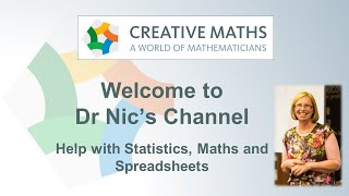 Welcome to Dr Nic's Maths and Stats