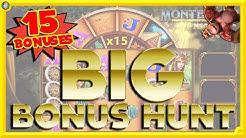 15 BONUSES BONUS HUNT!! HOW MUCH WILL I WIN?!!