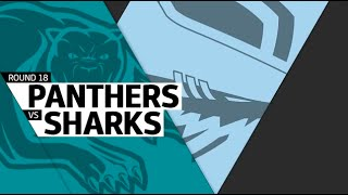 NRL 2016 Round 18 Highlights Sharks Vs Panthers