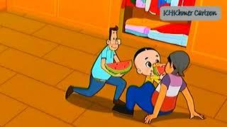 រឿងតុក្កតាភាសាខ្មែរ ក្បាលធំ និង ក្បាលតូច វគ្គ ២៥ Khmer Cartoon