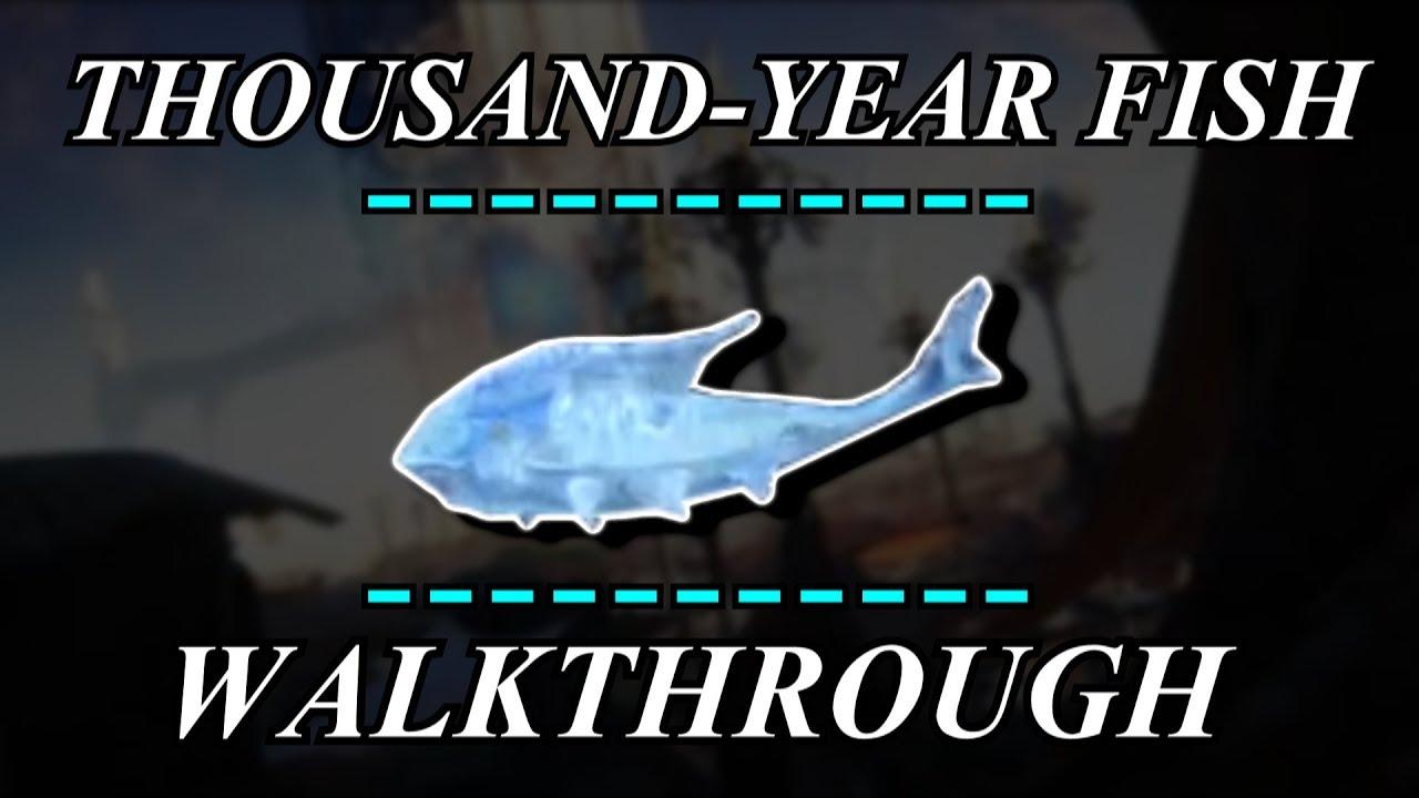 Warframe thousand year fish walkthrough youtube for How to fish in warframe