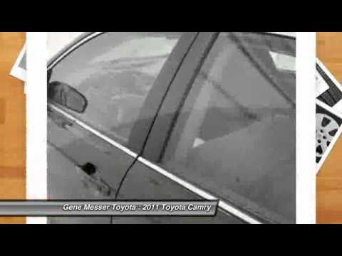 2011 Toyota Camry At Gene Messer Toyota In Lubbock BU616759