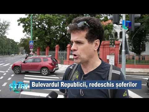 TeleU: Bulevardul Republicii, redeschis șoferilor