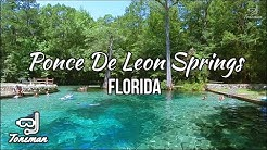 Ponce De Leon Springs Virtual Tour! ABOVE AND BELOW!!