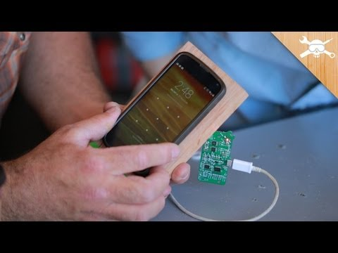 Make a Wireless Charging Stand