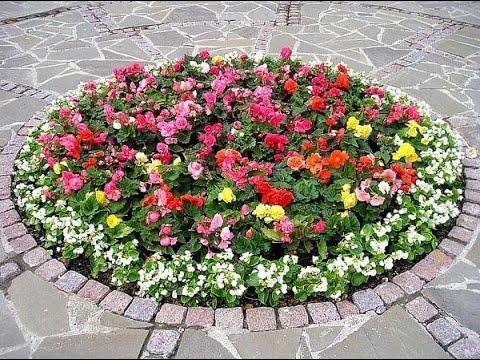Клумбы для цветов своими руками фото 974
