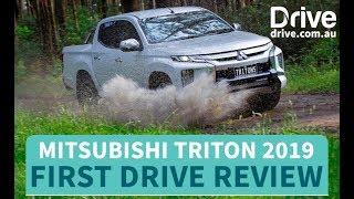 Mitsubishi Triton 2019 First Drive Review | Drive.com.au
