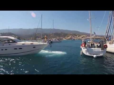 Mediterranean mooring problems in Poros