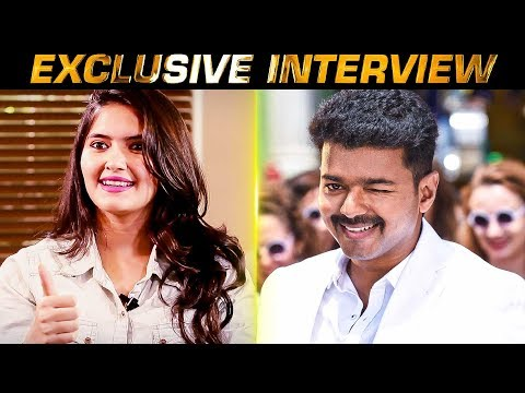 Vijay Sir will do this and my day is made. Actress Ayra