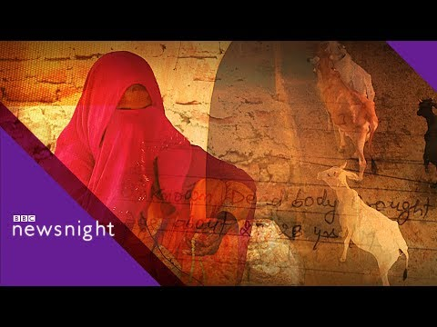 India's 'cow vigilantes' - BBC Newsnight