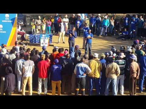 DA democratic alliance south africa ...mmusi maimane mamelodi