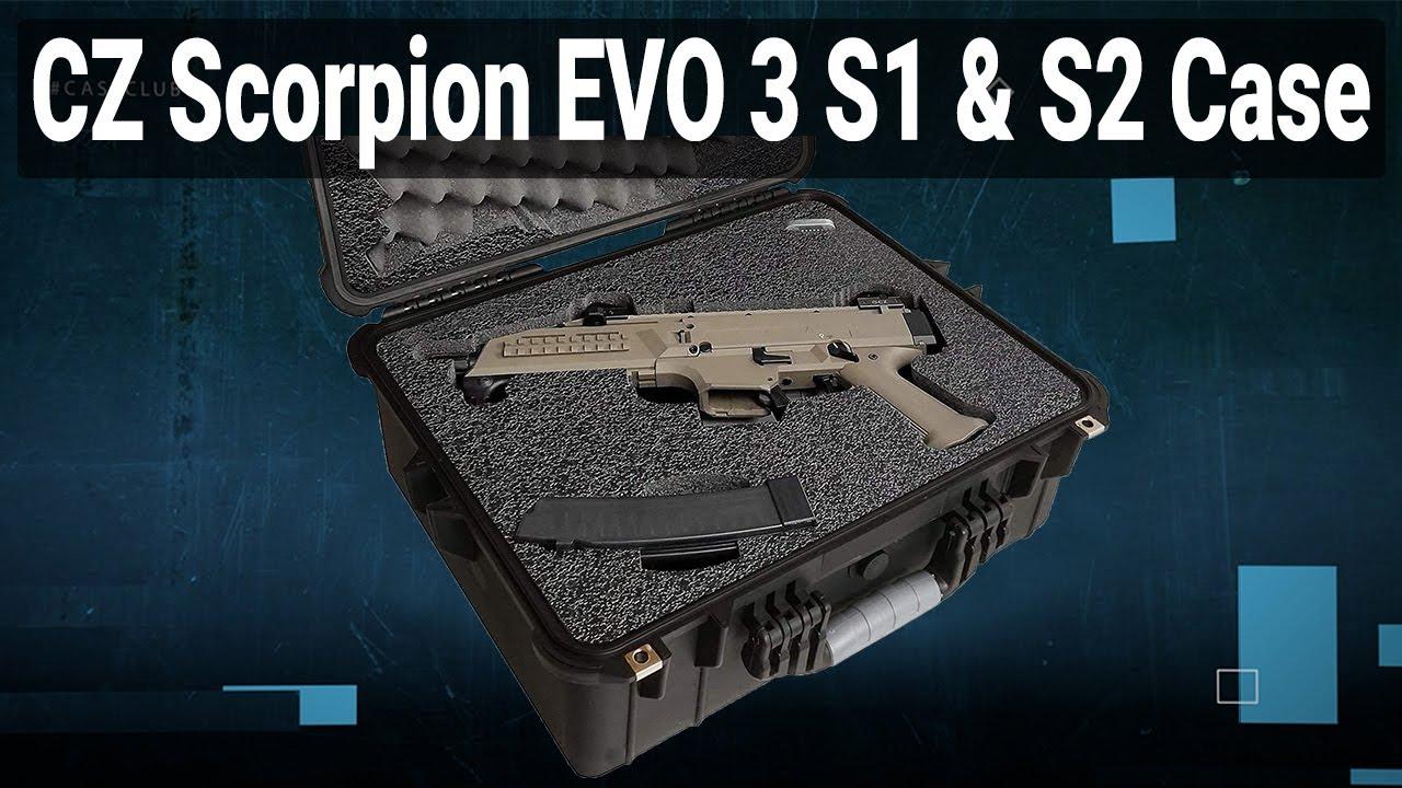 CZ Scorpion EVO 3 S1 & S2 Case (Gen-2) - Video