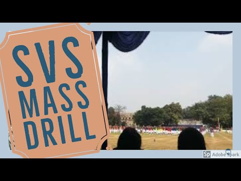 Mass Drill - SPORTS 2016 St. Vincent's High And Technical School, Asansol