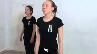 Студия Актер  Окрытый урок  Экзамен по танцу  Педагог  Делятицкая  Г А  7