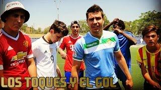 LOS TOQUES Y EL GOL VS Robert PG, Koko DC, Spursito, xBuyer y MiniBuyer | Retos de fútbol
