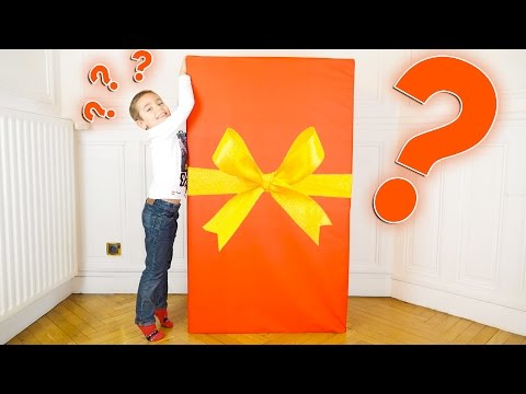 CADEAU SURPRISE GÉANT XXL PLUS GRAND QUE SWAN !