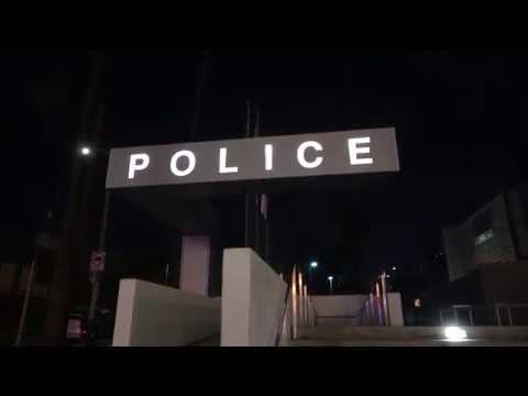 LAPD QUESTIONS ME ABOUT FILMING IN A POLICE STATION