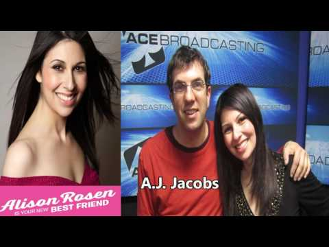 Alison Rosen - Episode #14 : A.J. Jacobs - Your New Best Friend