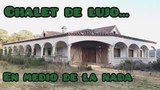 Casa de lujo ABANDONADA en medio de la nada - urbex cataluña/exploración urbana