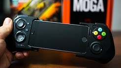 Moga Ace Power Gaming Controller For iPhone 5S/5C/5 & iPod Touch 5G - Hands On Demo & Review