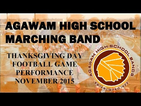 Agawam High School Marching Band Thanksgiving Day 2015