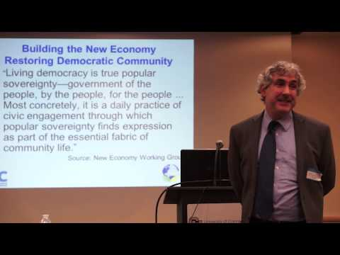 Community Wealth Building: Creating the new economy