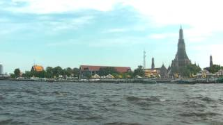 Boat Ride to Wat Arun, Temple of Dawn